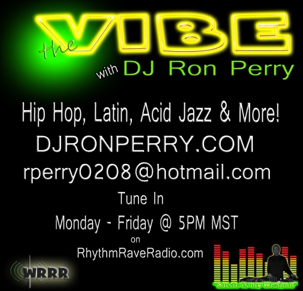 The Vibe with DJ Ron Perry Flyer